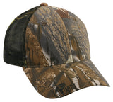 6 panel mesh back value camo original mossy oak break-up