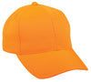 Blaze Orange Twill Camo Hunting Hat