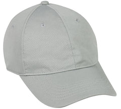 Moisture wicking low profile cap
