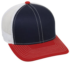 platinum series mesh back hat