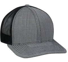 Plaid Golf Hat