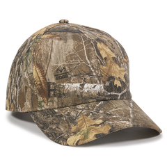 Twill Camo Hunting Cap in Realtree Edge