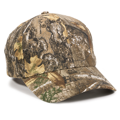 Camo Cap for the Larger Head in Realtree Edge