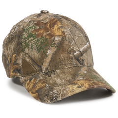 Washed Camo Hunting Cap in Realtree Edge
