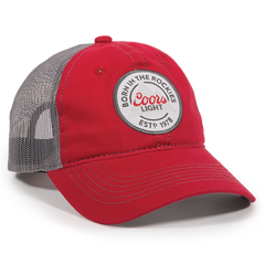 Born in the Rockies Coors Light Mesh Back Hat