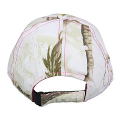Back of Team Realtree Ladies Camo Hat