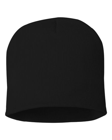 Basic Knit Beanie - Knit Fleece Beanie Caps -Sport-Smart.com