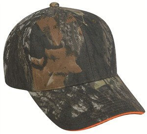 Camo Cap with Blaze Sandwich - Hunting Camo Caps -Sport-Smart.com