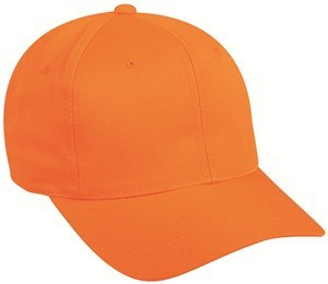 Blaze Orange Baseball Cap - Hunting Camo Caps -Sport-Smart.com