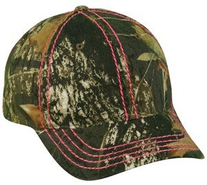 Ladies Color Stitch Camo Cap - Sport-Smart.com
