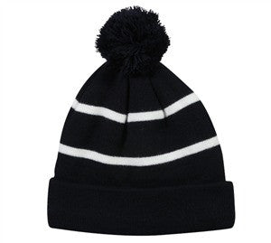 Knit Beanie with Fleece Lining - Knit Fleece Beanie Caps -Sport-Smart.com