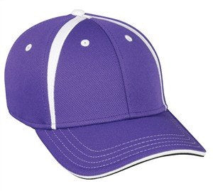 Proflex Fitted Cap with Crown Inserts - Sport-Smart.com