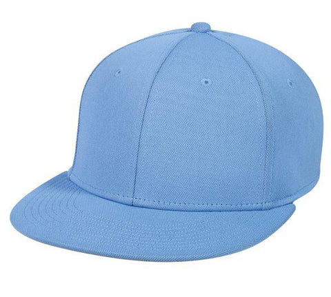 ProFlex Flat Visor Fitted Cap - Solid Colors - Baseball Hats -Sport-Smart.com