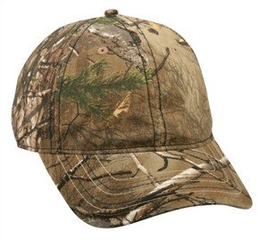 Camo Cap With Flag Undervisor - Hunting Camo Caps -Sport-Smart.com