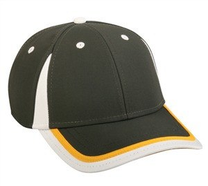 Charcoal Cap with Crown and Visor Inserts - Baseball Hats -Sport-Smart.com