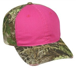 Ladies Frayed Visor Camo Cap - Sport-Smart.com
