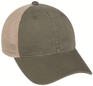 Platinum Series Heavy Cotton Front Mesh Back Cap - Baseball Hats -Sport-Smart.com