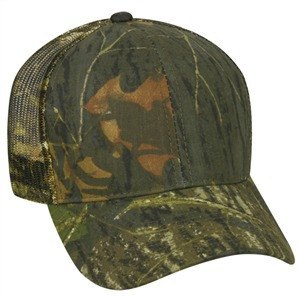Mid Crown Mesh Back Camo - Hunting Camo Caps -Sport-Smart.com