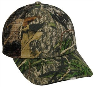 Mesh Back Camo Cap with Lights - Sport-Smart.com
