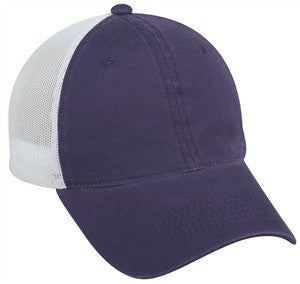 Platinum Series YOUTH Heavy Cotton and Mesh Back Cap - Kids and Youth Caps -Sport-Smart.com