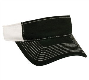 Heavy Washed Chino Visor - Visors -Sport-Smart.com