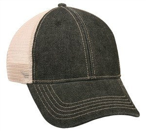 Denim Front Mesh Back Ball Cap - Baseball Hats -Sport-Smart.com