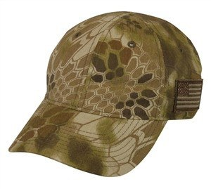 Kryptek Camo Cap with USA Flag - Hunting Camo Caps -Sport-Smart.com