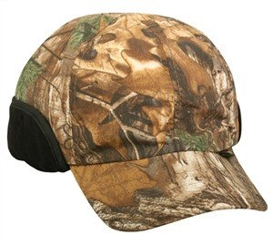 Water Defense Cap with Insulated Ear Flaps - Hunting Camo Caps -Sport-Smart.com