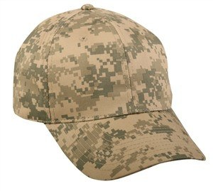 Structured Digital Camo Cap - Sport-Smart.com