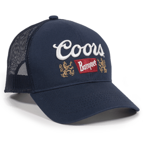 Coors Heavy Washed Mesh Back Hat - Baseball Hats -Sport-Smart.com