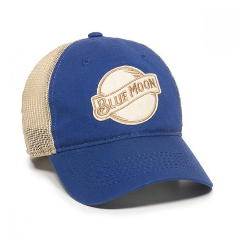 Blue Moon Beer Mesh Back Hat - Mesh Hats Caps -Sport-Smart.com