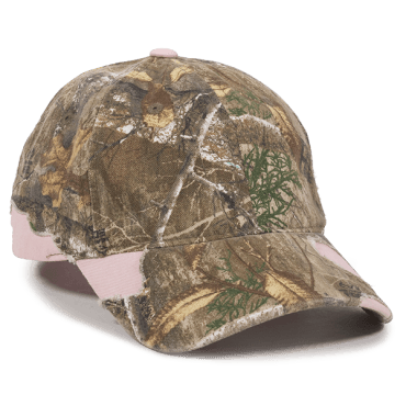 Frayed Camo Cap with Solid - Sport-Smart.com