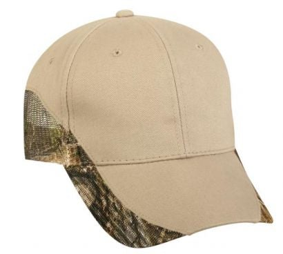 Brushed Cotton Twill with Camo Mesh - Hunting Camo Caps -Sport-Smart.com