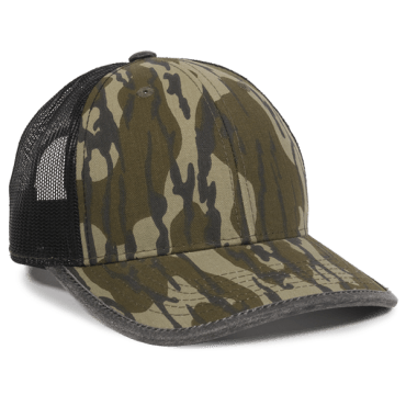 Camo Mesh Back with Weathered Cotton Binding - Hunting Camo Caps -Sport-Smart.com