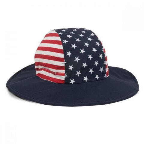 USA Moisture Wicking Boonie Hat - Sun Protection Hats -Sport-Smart.com