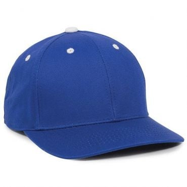 Cotton Twill Baseball Hat with Plastic Snap Closure - Baseball Hats -Sport-Smart.com