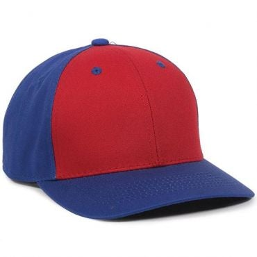 YOUTH Cotton Twill Baseball Hat with Plastic Snap Closure - Baseball Hats -Sport-Smart.com