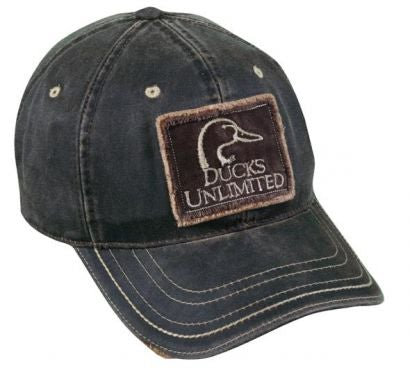Ducks Unlimited Low Crown Weathered Cotton Hat - Hunting Camo Caps -Sport-Smart.com
