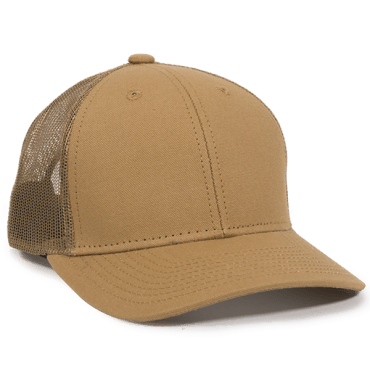 DUK Cotton Canvas Mesh Back - Mesh Hats Caps -Sport-Smart.com