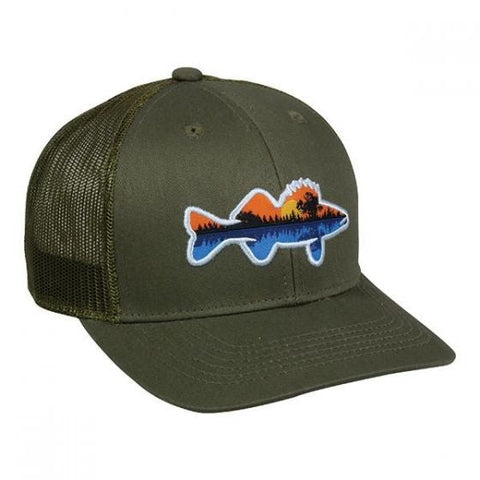 Walleye Fishing Original Trucker Mesh Back Hat - Fishing Hats and Visors -Sport-Smart.com