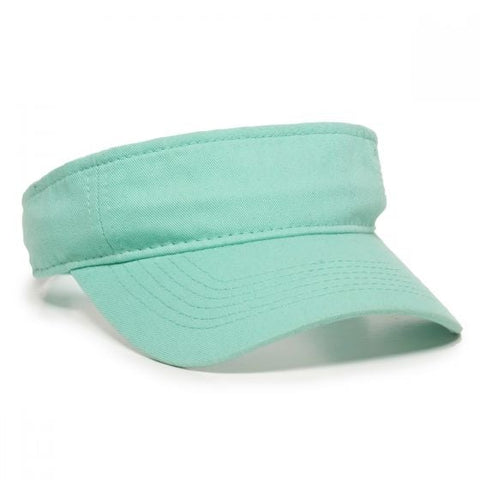 Garment Washed Twill Visor - Visors -Sport-Smart.com