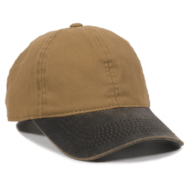 Lightly Structured DUK Cotton Canvas Hat - Baseball Hats -Sport-Smart.com