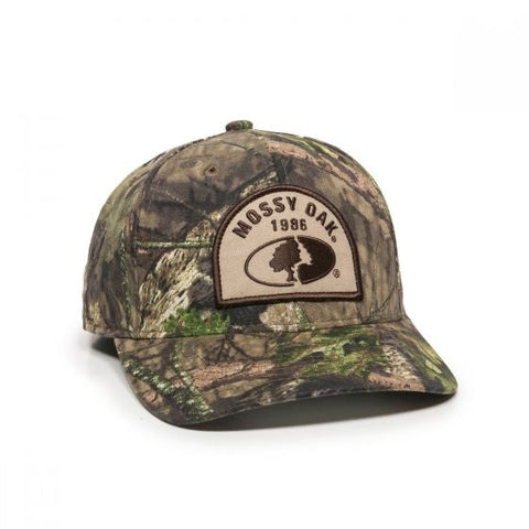 Mossy Oak Logo Pro Round Crown - Hunting Camo Caps -Sport-Smart.com