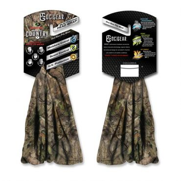 Camo Head/Neck Wrap - Fishing Hats and Visors -Sport-Smart.com