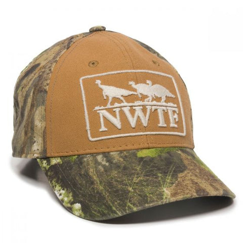 National Wild Turkey Federation Logo Hat - Hunting Camo Caps -Sport-Smart.com