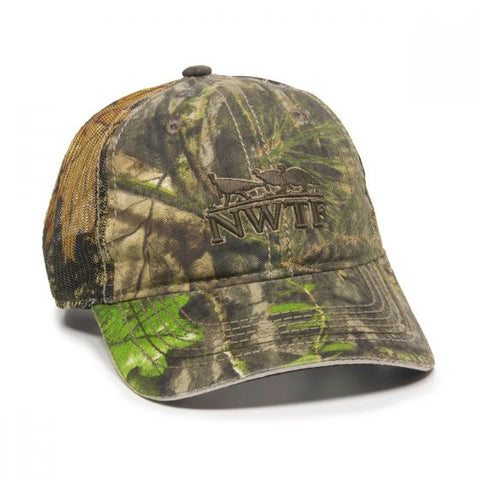 National Wild Turkey Federation Camo Mesh Back Hat - Hunting Camo Caps -Sport-Smart.com