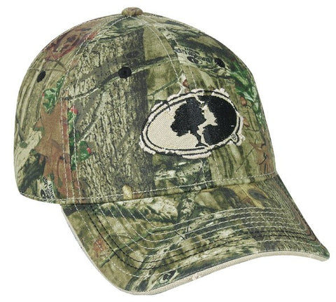 ProFlex Mossy Oak Logo Camo Fitted Cap - Hunting Camo Caps -Sport-Smart.com