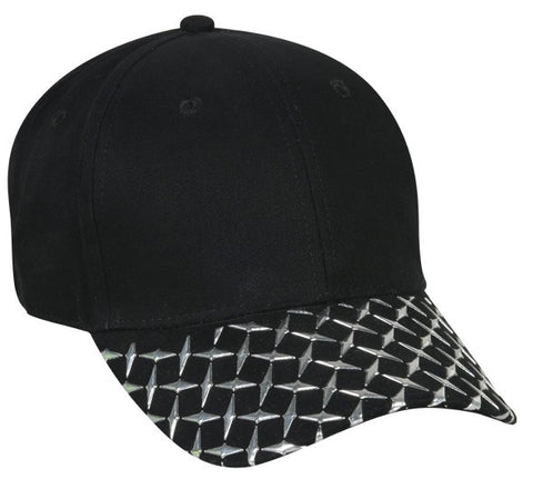 Diamond Plate Hat - Baseball Hats -Sport-Smart.com