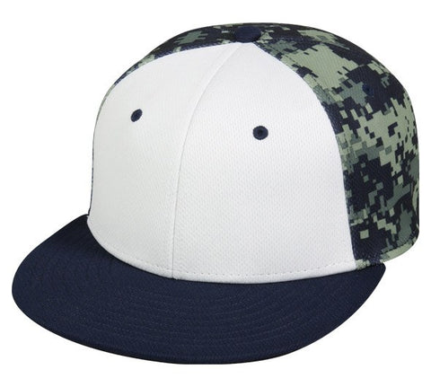 ProFlex Team Digital Camo Fitted Hat - Baseball Hats -Sport-Smart.com
