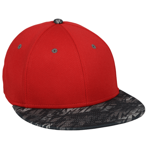 ProTech Mesh Fitted Hat with Storm Pattern - Fitted Caps -Sport-Smart.com